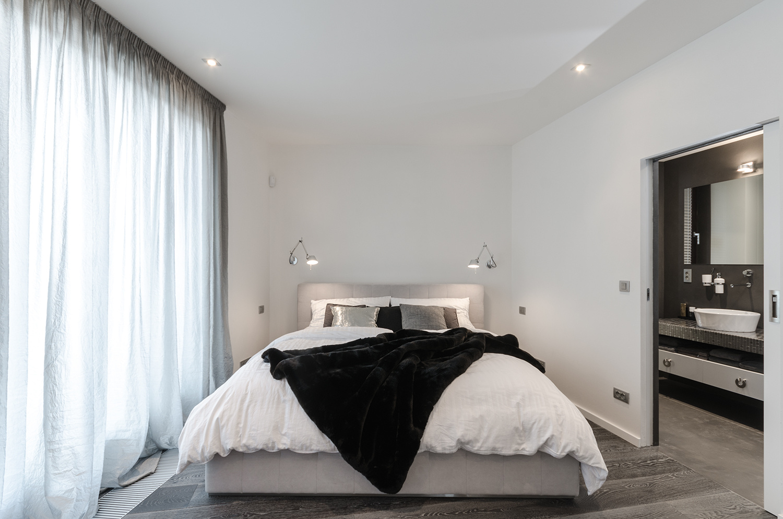 Pražský byt ladený do pánskeho štýlu