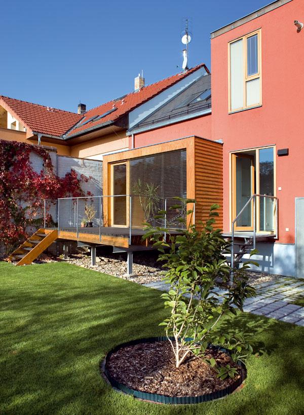 Pozoruhodný dvojgeneračný domček v Prahe