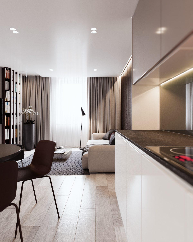 Očarujúci byt pre trojčlennú rodinu