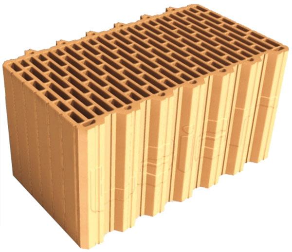 Prednosti presných tvaroviek. Murovanie spresnými brúsenými tehlami ušetrí materiál askracuje čas výstavby, ato bez vytvárania tepelných mostov apri menšej vlhkosti vstavbe. Výhodou brúsených tehál LeierPLAN je aj ich geometria založená na systéme pero + drážka. To umožňuje murovanie bez malty vzvislej škáre, čím sa znižuje aj spotreba omietok.