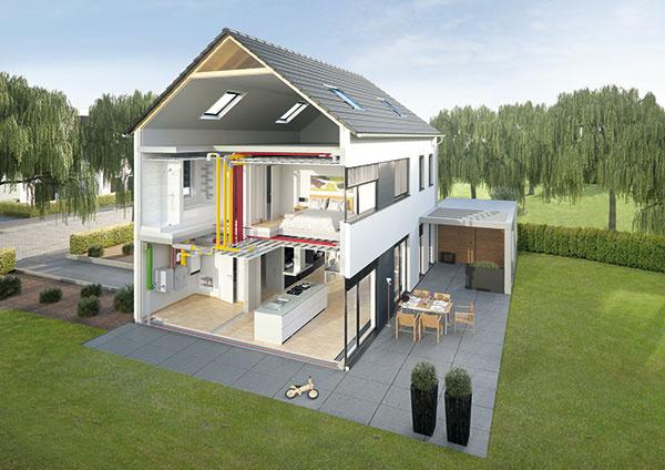 Vysoko kvalitné a hygienické rozvody vzduchu pre vetranie s rekuperáciou v rodinnom dome. Teraz za mimoriadnu cenu!