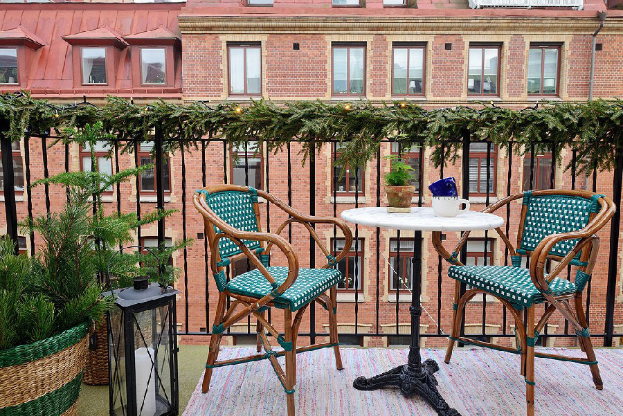 Útulný a prirodzený byt s rozlohou 40 metrov štvorcových, ktorý si vás získa