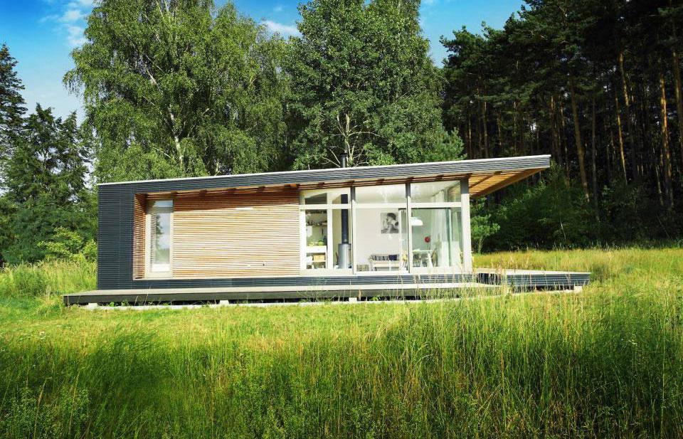 Letný dom, ktorý môžete obývať po celý rok