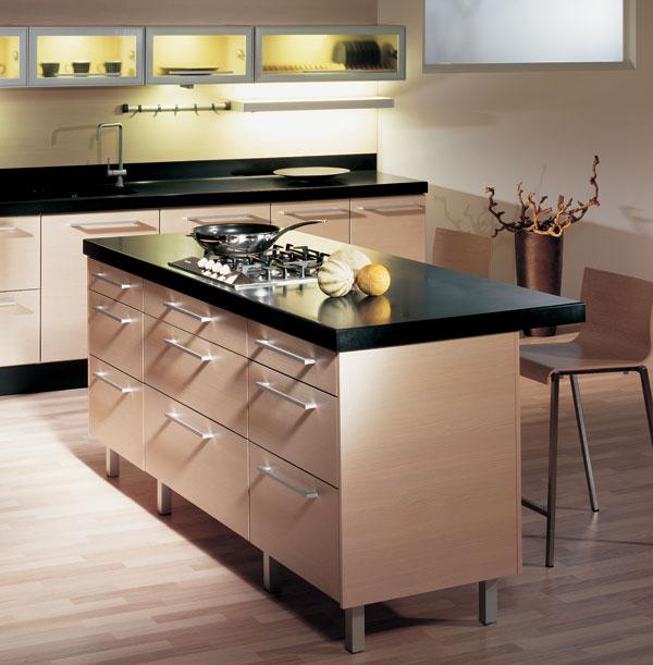 Pohodlné upratovanie v moderných kuchyniach