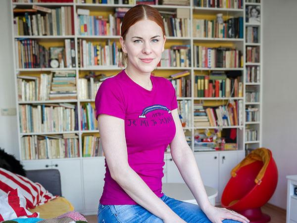 Ideálne bývanie podľa kreatívnej herečky Kristíny Farkašovej
