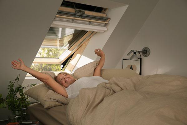 Vonkajšia roleta zaručí príjemný pocit v interiéri počas všetkých ročných období.