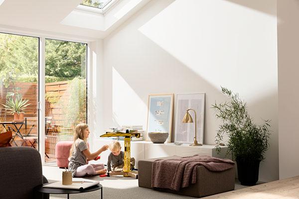 Súčasťou zdravého domova je aj denné svetlo a prísun čerstvého vzduchu.