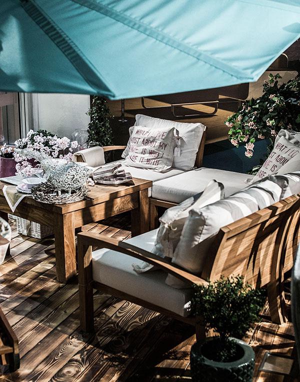 Posedenie na terase – ako si vybrať vhodný záhradný nábytok?