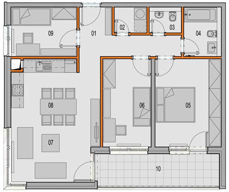 Nové trendy v bývaní: 3,5 izbové byty v Arboria Parku