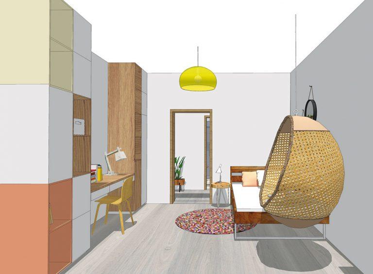 Škola dizajnu 11. časť – Detská izba