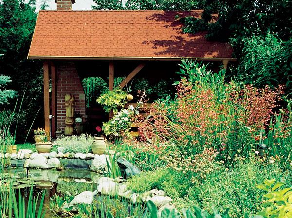 Chaty a záhradné domčeky
