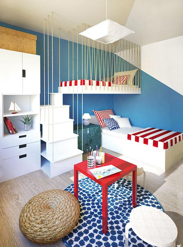 Posteľné preliezačky sú skvelou voľbou pri šetrení priestorom. Deti ich navyše využijú nielen na spanie, ale aj celodenne pri hrách, keďže pôsobia ako bunkre.