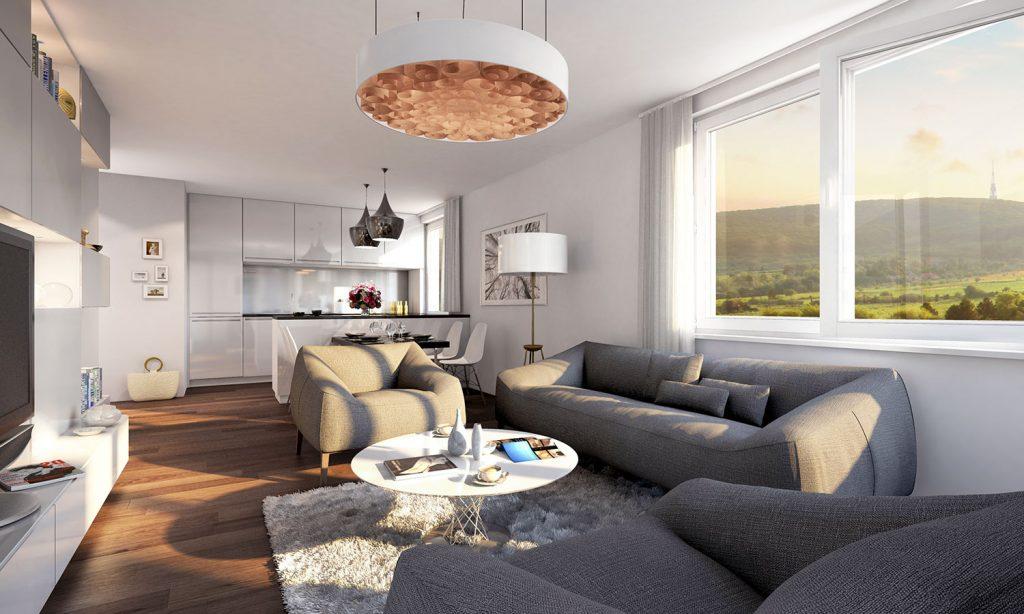 Nadštandardný 3-izbový byt v Malých Krasňanoch kúpite už od 148 000 EUR