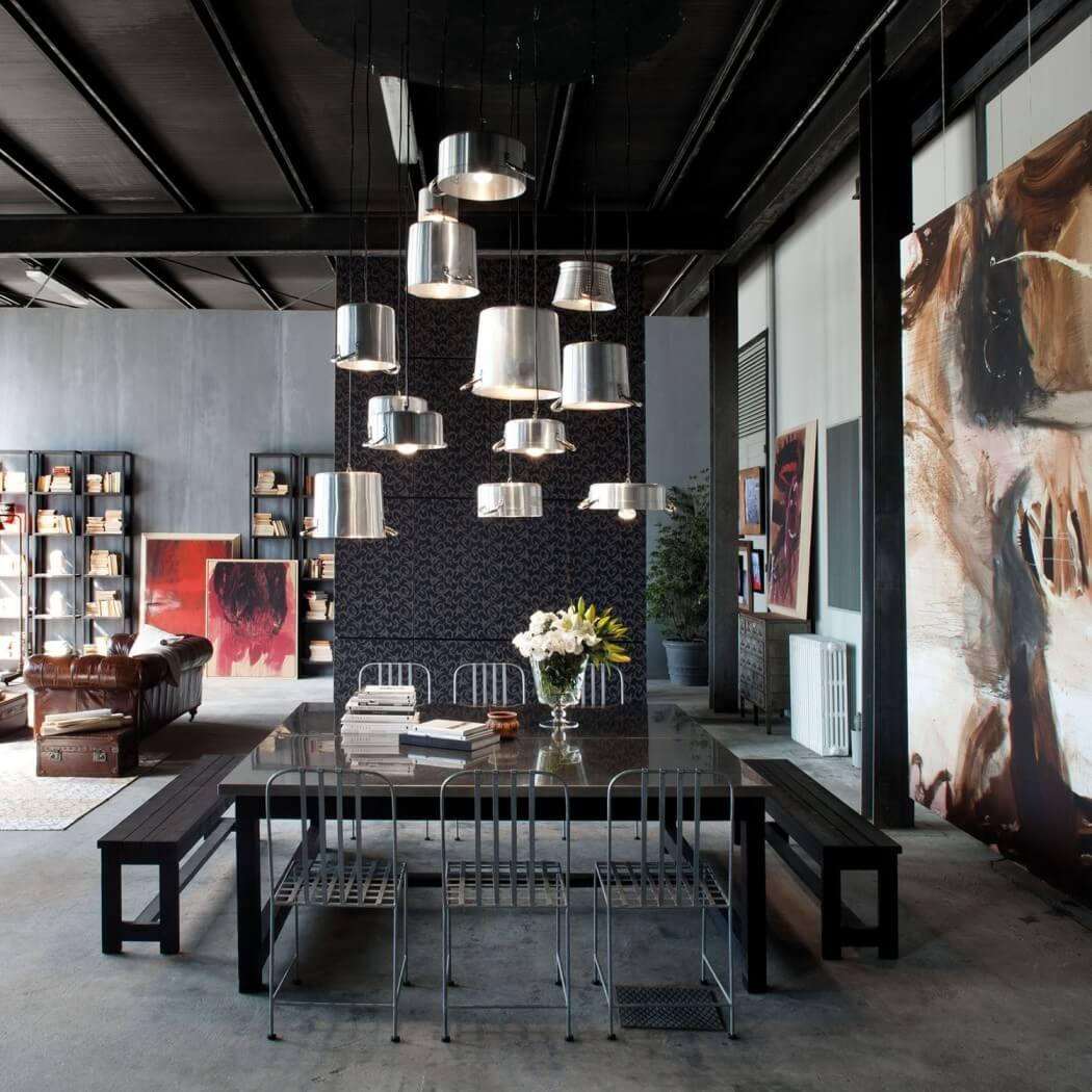 Milánsky paradox: Svetlý loft v čiernom