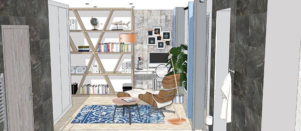 Ak túžite po domácej pracovni, pri hľadaní bývania určite myslite aj na to, kde by sa dala umiestniť. Vprípade, že jej nemôže byť vyčlenená samostatná miestnosť, môžete si vytvoriť pracovný kút vobývacej izbe alebo spálni. Ak sa uskromníte pri výbere rozmeru pracovnej dosky, vytvoriť si ho môžete aj vnaozaj stiesnených priestoroch (študentská práca).