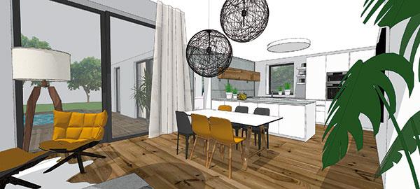 Investícia do kvalitných podlahovín určite patrí pri riešení bývania ktým najdôležitejším, hoci často aj finančne najnáročnejším. Pri ich výbere sa pýtajte na odolnosť materiálu aj vhodnosť jej použitia do jednotlivých miestností anepodceňte ani úpravu povrchu pred položením (študentská práca).