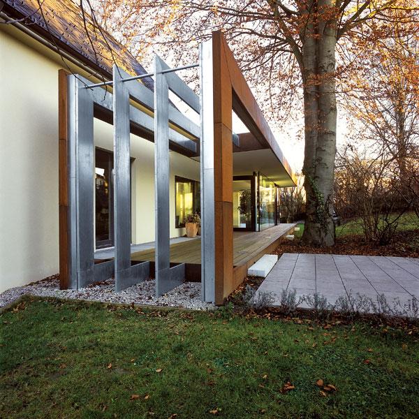 Prestavba rodinného domu v Ebelsbergu