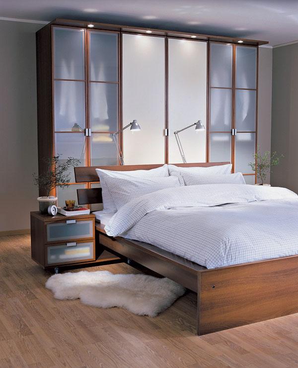 Drevený nábytok v interiéri