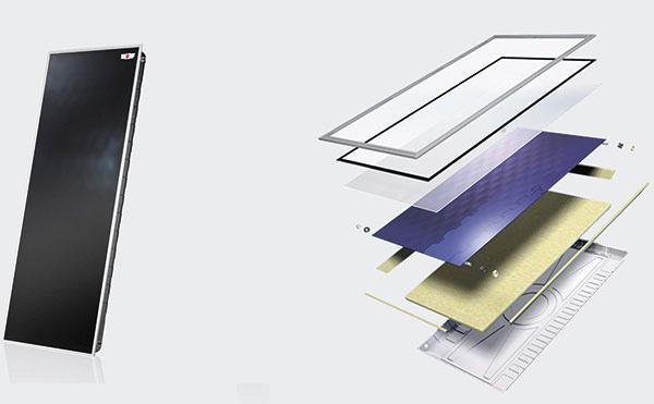 Solárne kolektory Wolf TopSon F3-1 predstavujú efektívne riešenie využitia čistej slnečnej energie. Celá konštrukcia je vďaka hlboko zapustenej kolektorovej vani abezpečnostnému sklu hrúbky 3,2 mm maximálne odolná proti nepriaznivým poveternostným podmienkam, ominimalizáciu tepelných strát sa postará izolácia zminerálnej vlny hrúbky 60 mm. Montáž je vhodná na všetky bežné krytiny vrátane použitia na plochých strechách (nastaviteľný sklon 20°, 30°, 45°).