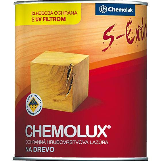 CHEMOLUX SEXTRA je hrubovrstvová syntetická lazúra na drevo, určená do exteriéru aj interiéru. Na povrchu vytvára hodvábne lesklú hrubú vrstvu, ktorá dlhodobo chráni drevo pred nepriazňou počasia aUV žiarením, zvýrazňuje jeho kresbu audržiava vlastnosti. Lazúra je tixotropná (nesteká), takže sa dobre sa nanáša aj na zvislé plochy apodhľady. Náter ostáva pružný anepraská. www.chemolak.sk