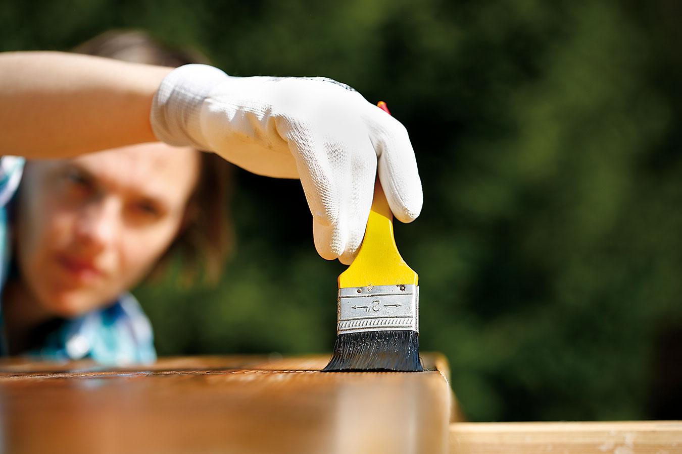 Ako udržať exteriérové výrobky z dreva v dobrej kondícii