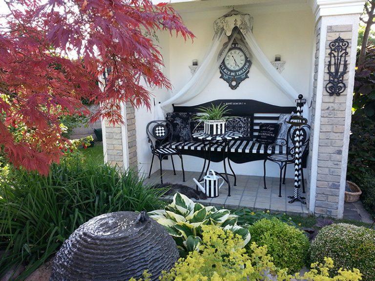 VÁŠ TIP: Ručne maľovaná záhradná besiedka