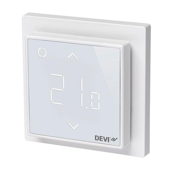 Termostat Devireg™ Smart mení mobilné zariadenia na prémiové ovládanie podlahového vykurovania.