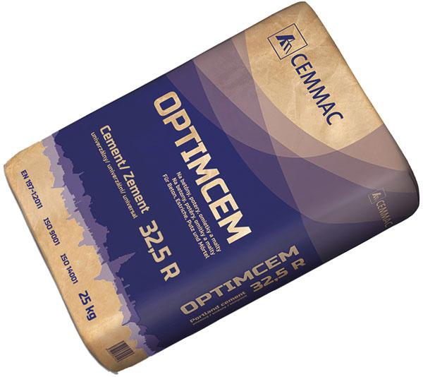 Cemmac Optimcem je dobre spracovateľný univerzálny cement, vhodný na výrobu omietok a poterov. Vďaka dobrej plasticite a čerpateľnosti je ideálny aj na strojové omietky. (www.cemmac.sk)