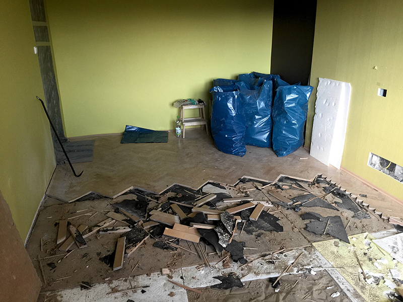 Premena obývačky na izbičku pre dvoch malých chlapcov