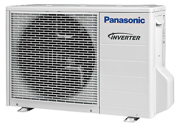 Klimatizačné jednotky Panasonic Etherea sdecentným dizajnom sú vponuke vbielom, matnom bielom astriebornom vyhotovení.