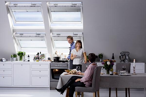 Kuchynskú linku treba osvetliť cielene.