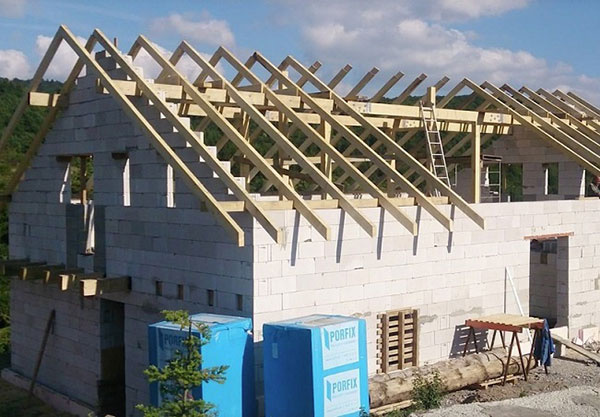 Z čoho postaviť nízkoenergetický dom bez dodatočného zateplenia?