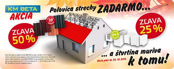 KM BETA - Materiály na hrubú stavbu domu od jedného výrobcu!