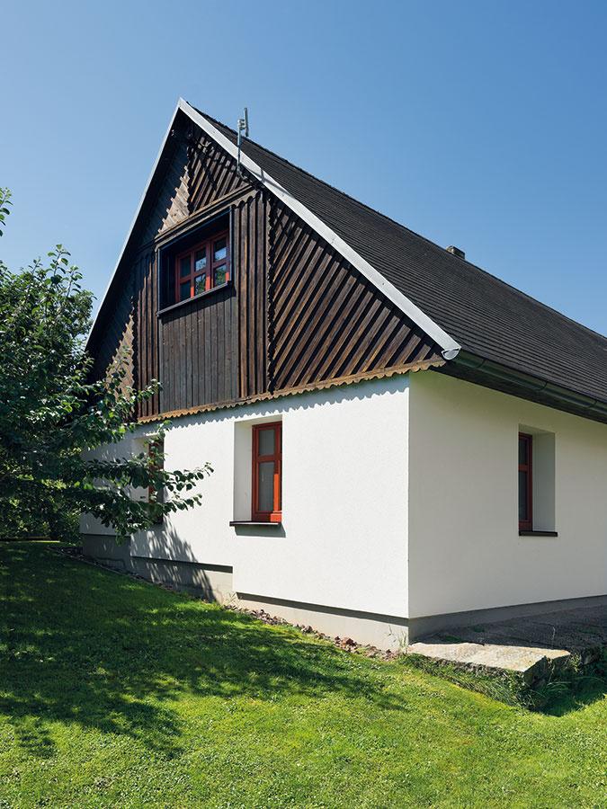 Exteriér pôvodnej časti domu bol opravený, aby vydržal ďalších 100 rokov.