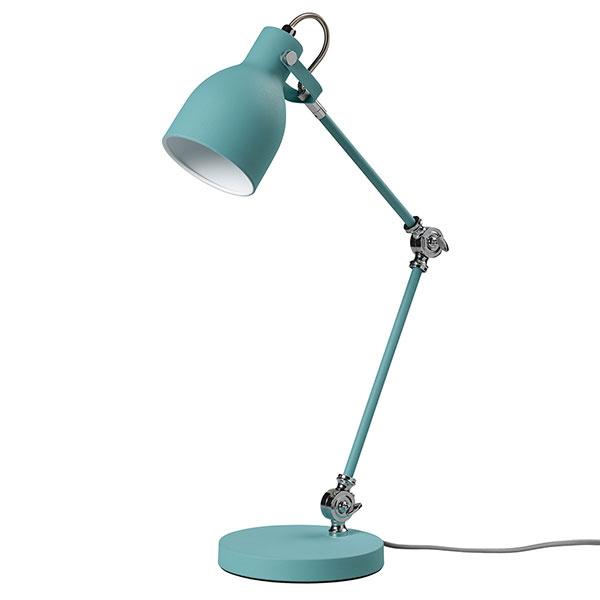Kvalitné osvetlenie musí byť súčasťou každého pracovného kútika, nech už ide o akúkoľvek vekovú kategóriu. Uprednostnite tie na ohýbateľných ramenách, ktoré možno natočiť na všetky strany. Svietidlo Wild Wood nájdete na www.designerhomeware.co.uk.