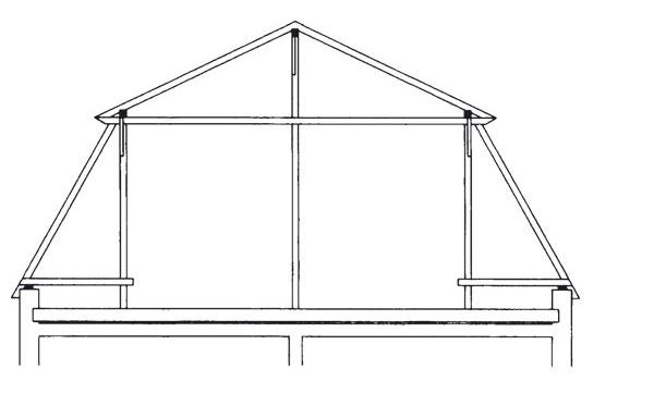 Drevený krov