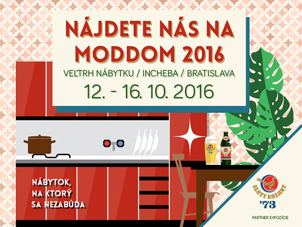 DECODOM predstaví novinky a tradíciu na výstave MODDOM