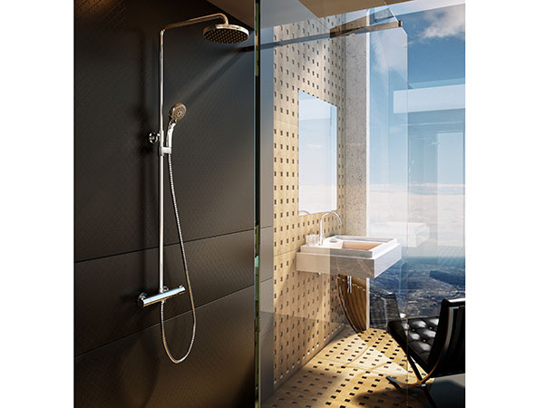 Termostatický sprchovací stĺp RAVAK získal Ocenenie roka