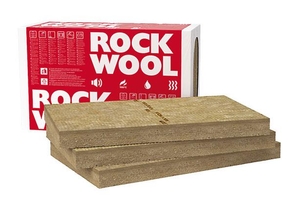 FRONTROCK MAX E dvojvrstvová doska zkamennej vlny od firmy Rockwool shornou veľmi tuhou vrstvou zabezpečuje vysokú odolnosť proti mechanickému namáhaniu. Doska je určená na stavebné tepelné, požiarne aakustické izolácie. Má najvyšší stupeň kvality certifikovaných stavebných výrobkov ETICS apatrí do najbezpečnejšej triedy reakcie na oheň A1. (www.rockwool.sk)