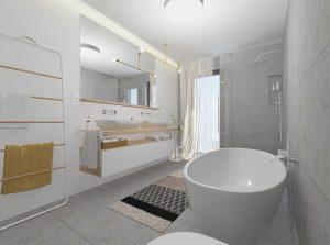 Ako vyriešiť kúpeľňu pre celú rodinu, ktorá bude aj po rokoch pôsobiť sviežo?