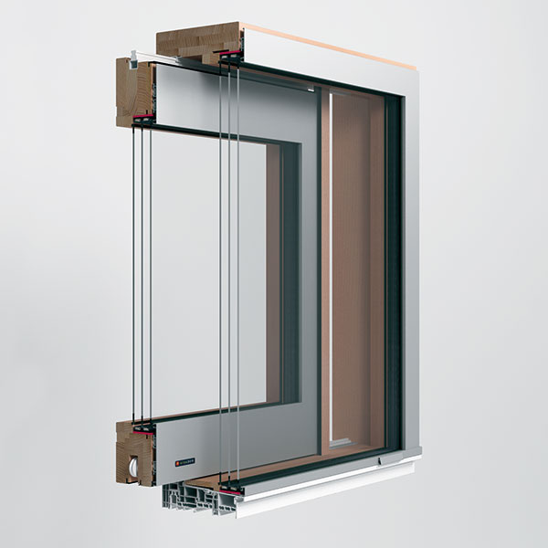 Drevo ahliník vytvárajú vdrevohliníkových oknách značky Mirador dokonalú synergiu. Drevo je prírodný materiál charakteristický prirodzenou kresbou adobrými tepelnoizolačnými vlastnosťami. Zvonkajšej strany je chránené hliníkovým profilom proti poveternostným vplyvom amechanickému poškodeniu, čo zaručuje minimálnu náročnosť na údržbu. Drevohliníkový profil má oproti klasickým oknám menší obvodový rám, čím vznikne väčšia zasklená plocha. www.mirador.eu