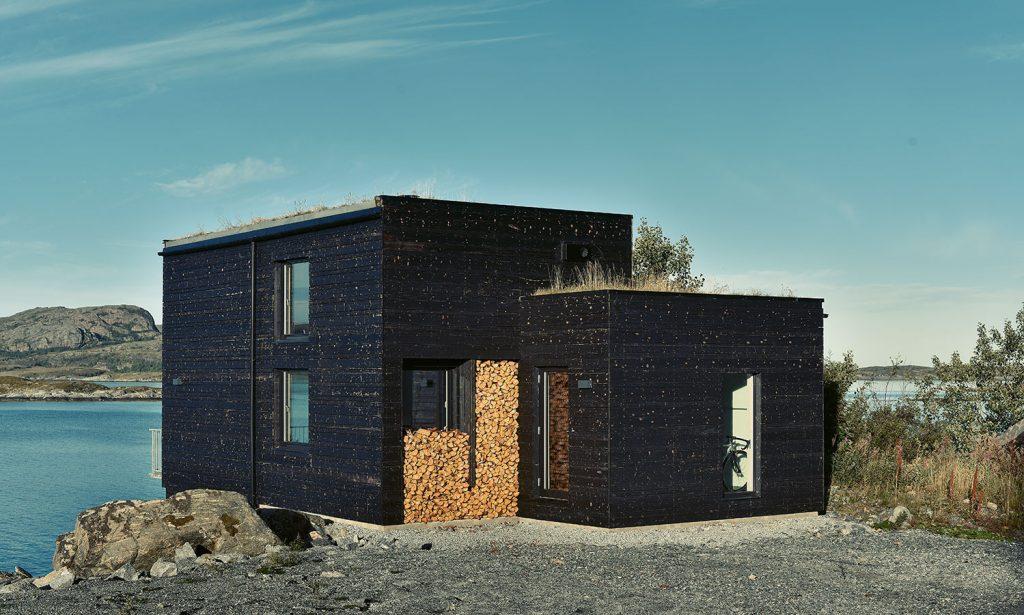 Keď je majiteľom domu kuchár, ktorý sa chce obklopiť krásnou prírodou, môže to vyzerať aj takto!