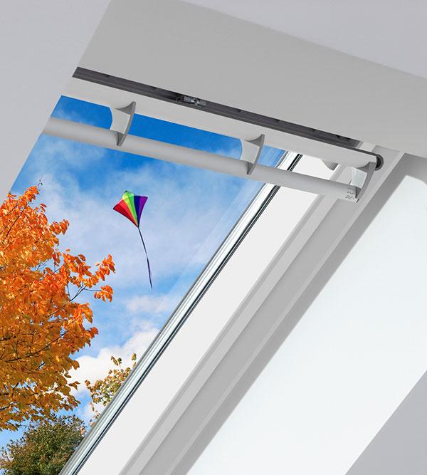 Ventilačná klapka zabezpečí neustály prívod čerstvého vzduchu do spálne.