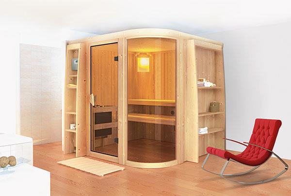 Model Parima 2 s oblým bokom vyplneným tvrdeným a pobronzovaným sklom vzbudzuje dojem najvyššieho luxusu.
