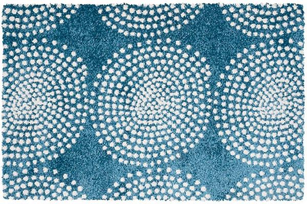 Koberec je ďalší prvok, ktorý vpriestore dokáže takmer zázraky – zútulní ho, opticky prehreje azatraktívni. Štipku hravosti vnesie do spálne nápaditý vzor, motív inšpirovaný špirálami a zložený zmenších bodiek. Koberec Tiffany 50/KWK nájdete vpredajniach BRENO.