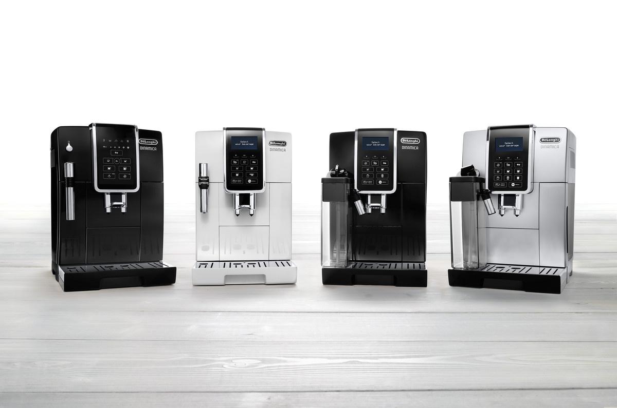 Plnoautomatický kávovar z rady De'Longhi Dinamica
