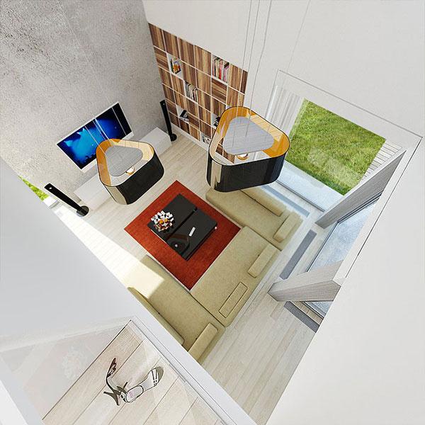 Kombinácia sedlovej strechy s plochou? Originálny dom za prijateľnú cenu