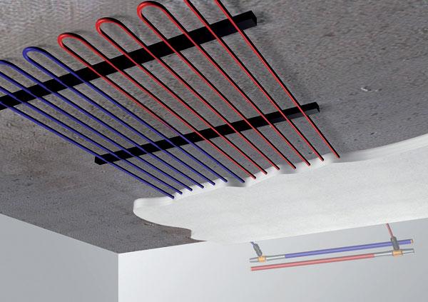 Chladiace stropy