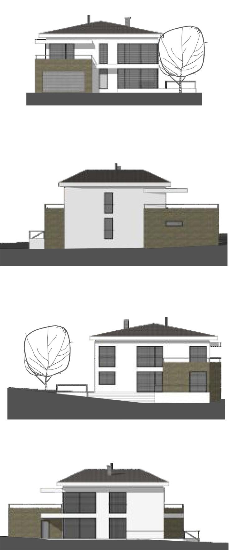 Projekt rodinného domu Nina, Modulor.sk