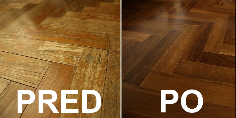 Ste spokojní so vzhľadom svojej podlahy?